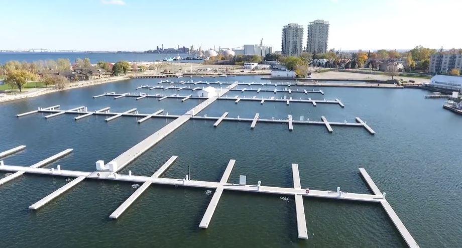Harbour West Hamilton boat slips